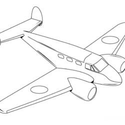 desenho-aviao-imprimir-pintar-23