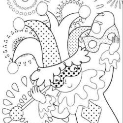 Desenhos De Carnaval Desenhos E Colorir
