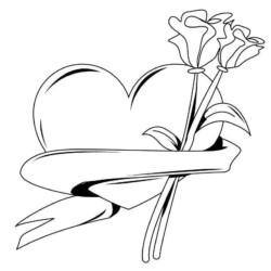 Desenhos De Coração Desenhos E Colorir