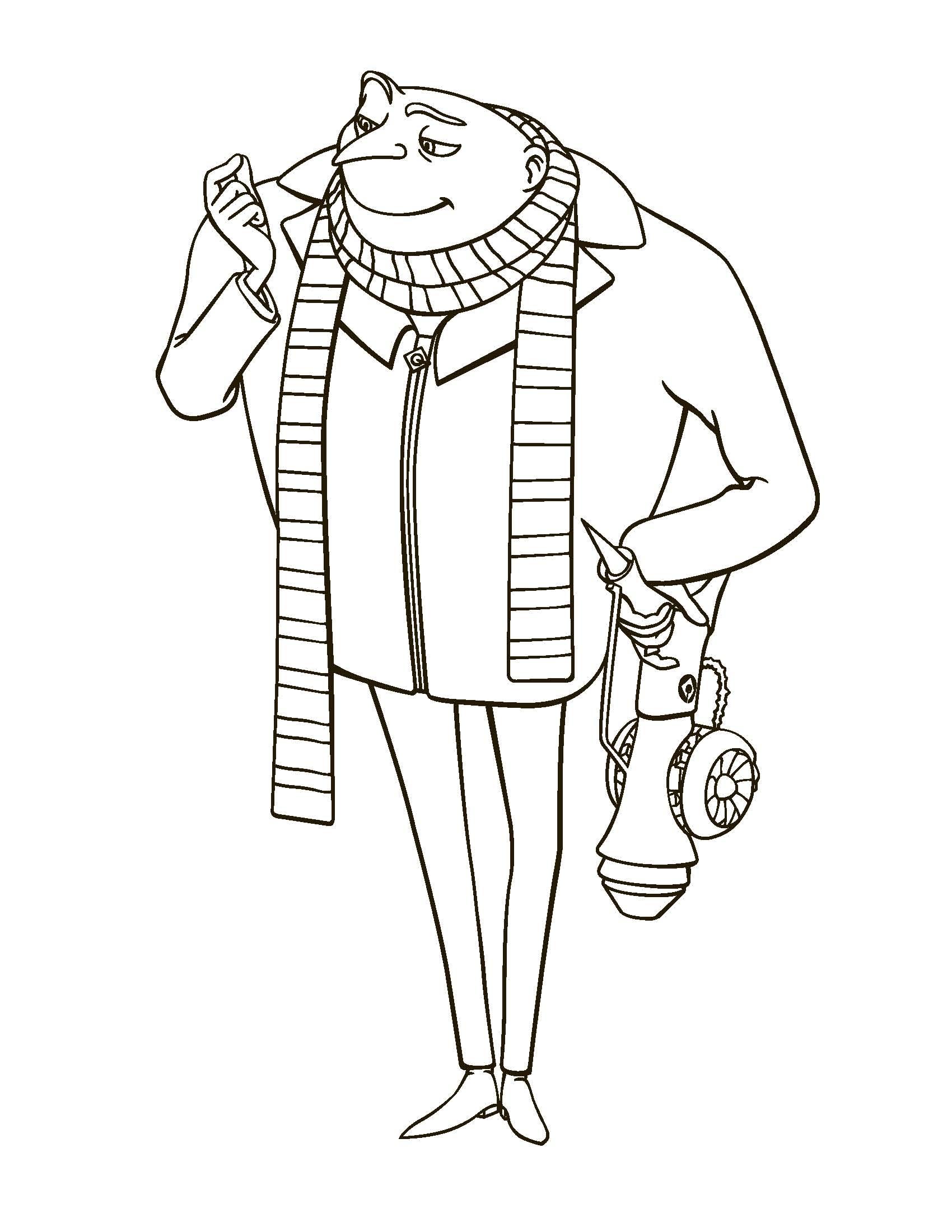 Jogo Meu Malvado Favorito E Os Minions Desenhos Para Imprimir