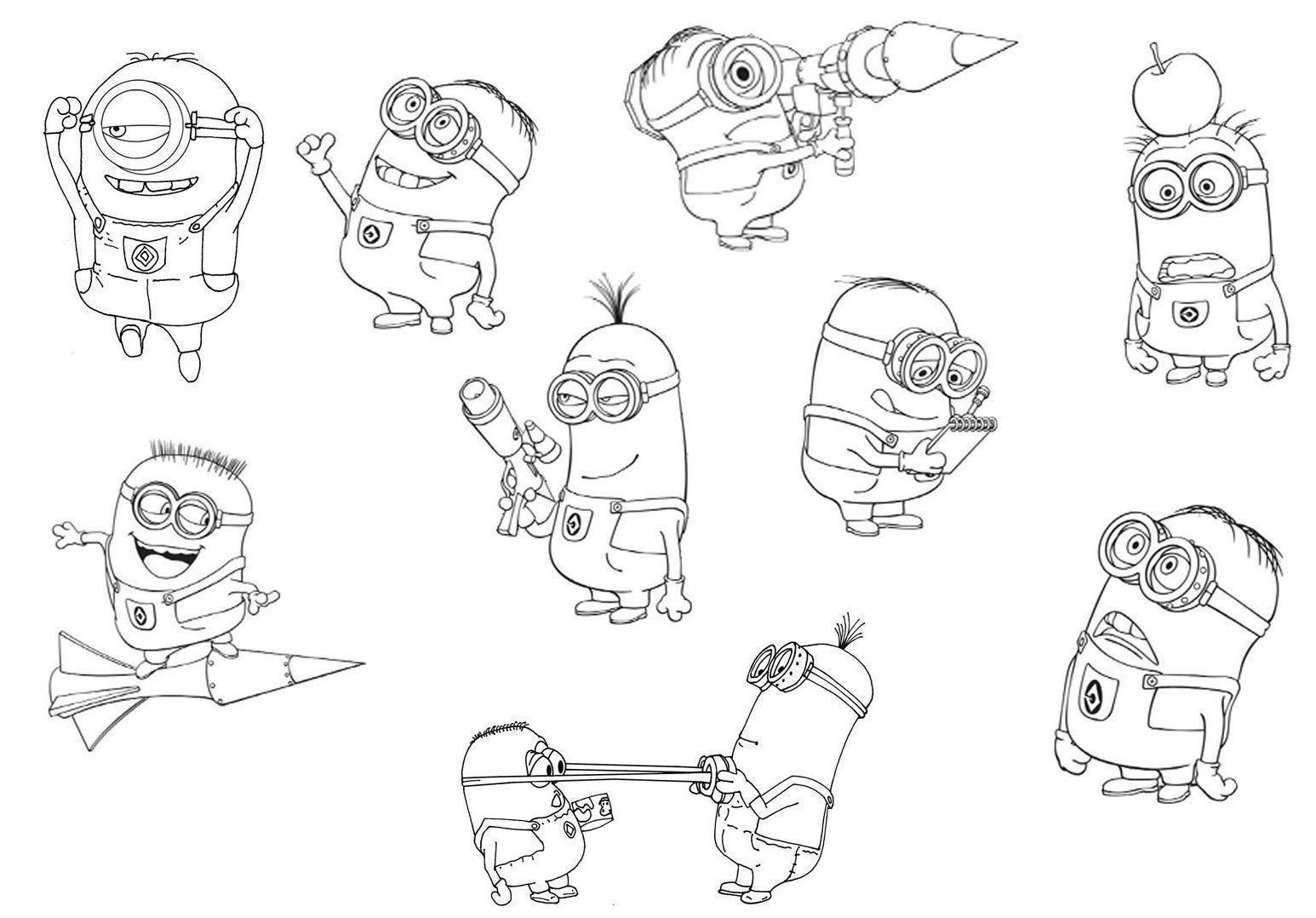 Kevin Crossley Character Design Pdf : Jogo meu malvado favorito e os minions desenhos para