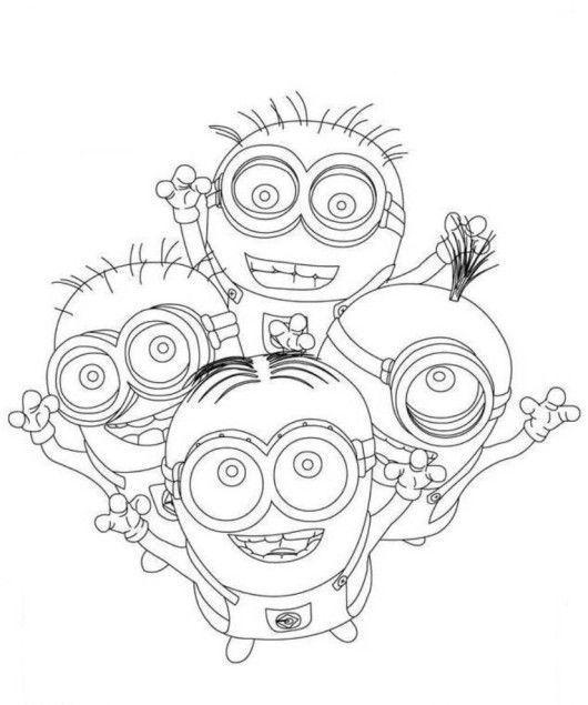Jogo Meu Malvado Favorito E Os Minions Desenhos Para
