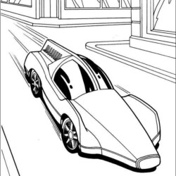 Desenhos Do Hot Wheels Para Imprimir E Colorir