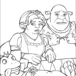 Desenhos Do Shrek Desenhos E Colorir