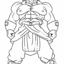 Desenhos Do Dragon Ball Z Para Imprimir E Colorir