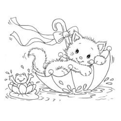 Desenhos De Gatos Desenhos E Colorir