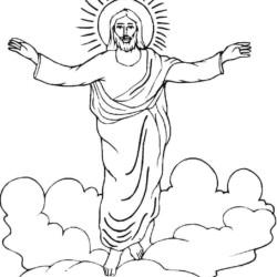 Desenhos De Jesus Desenhos E Colorir
