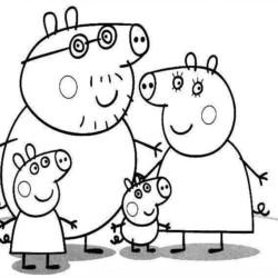 Desenhos Da Peppa Pig Desenhos E Colorir
