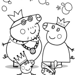 Peppa pig color pages 485602 datu mo info.