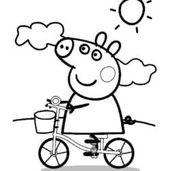 Desenhos da Peppa Pig colorir e imprimir