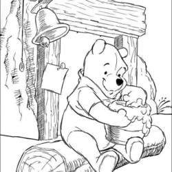 Desenhos Do Ursinho Pooh Para Imprimir E Colorir