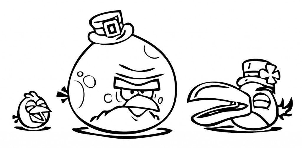 25 Desenhos Do Angry Birds Para Colorir Em Casa: Desenhos Para Colorir Pintar E Imprimir