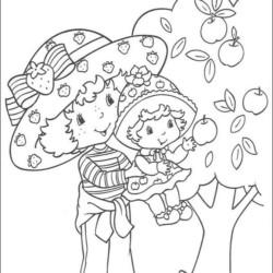 Desenhos Da Moranguinho Para Imprimir E Colorir