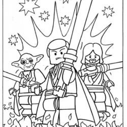 Desenhos Do Star Wars Para Imprimir E Colorir