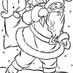 Desenhos Do Papai Noel Para Imprimir E Colorir