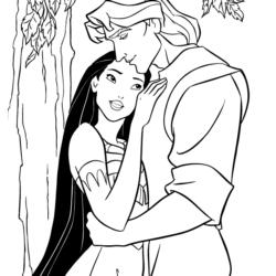 Avatar >> Desenhos da Pocahontas - Desenhos e Colorir