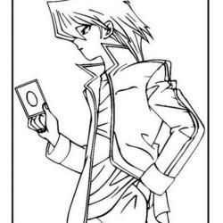 Desenhos Do Yu Gi Oh Para Imprimir E Colorir